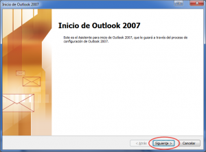 Configuración Correo Outlook